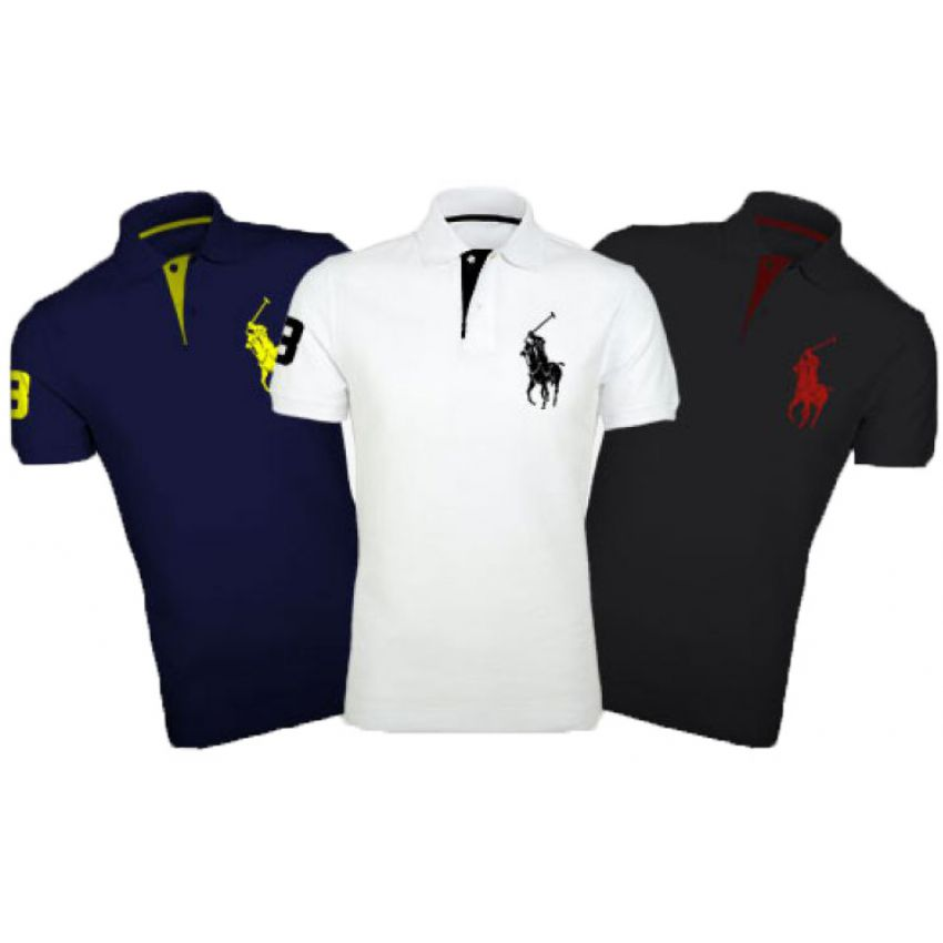 dc4c7910eb9 Buy Pack Of 3 Ralph Lauren Polo T Shirts in Pakistan