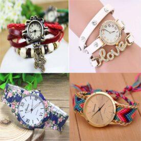 Pack Of 4 Bracelet Casual Watch In Pakistan