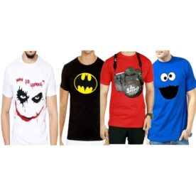 Pack Of 4 Funky T-Shirts For Men