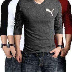 Pack Of 4 Puma Full Sleeve T-Shirts