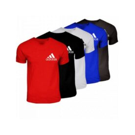 Pack of 5 Round Neck Adidas T-Shirts For Him