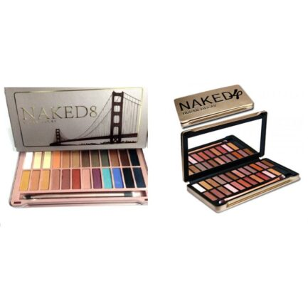 Pack of Naked 4 & Naked 8 Eyeshadow Pallete