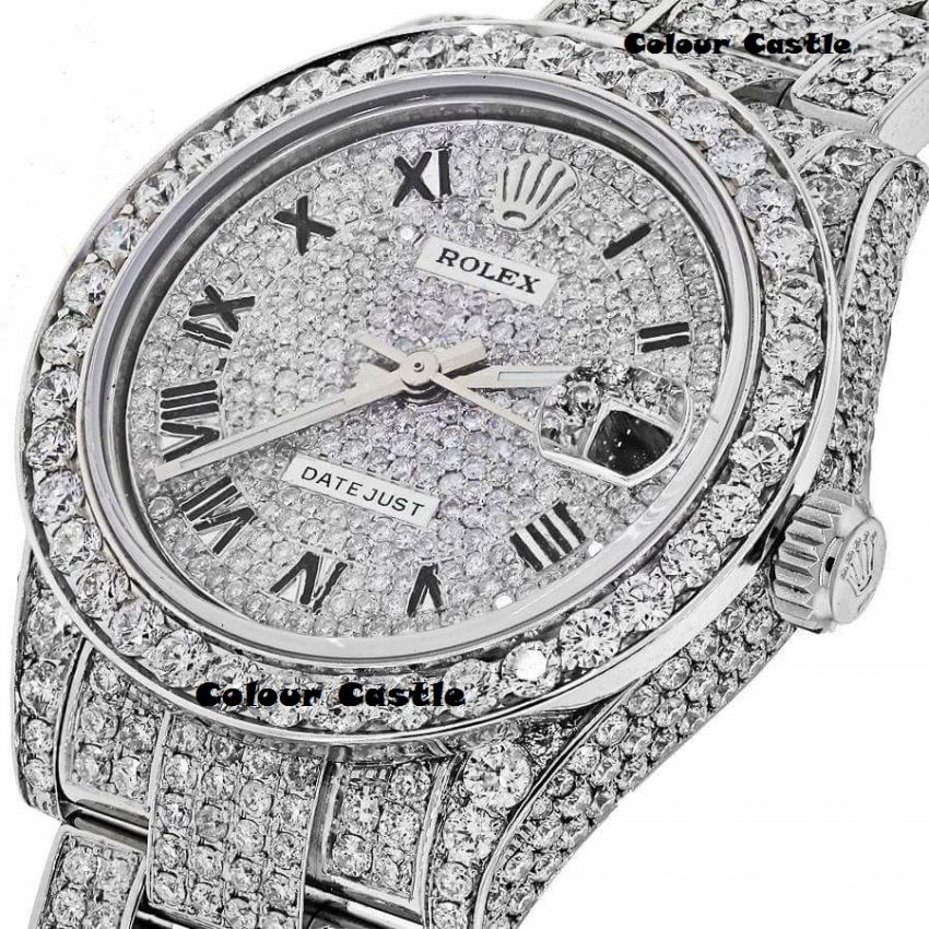 frost classical from full gold vanguard image rose watches diamond of