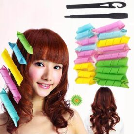 18 Pcs Magic Hair Curlers Curl Formers In Pakistan
