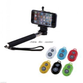 Selfie Stick With Remote - Black