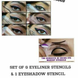 Set of 6 Eyeliner Stencils and 1 Eye Shadow Stencil In Pakistan
