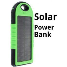 Solar Powerbank Orignal 5000Mah Dual Usb Output