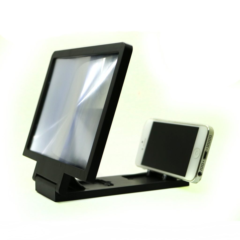 3D Mobile Screen Magnifier With Speaker