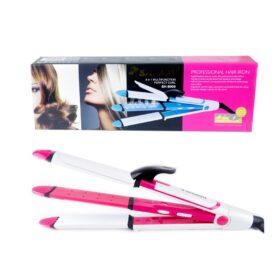 Shinon 4 in 1 Hair Curler & Straightener in Pakistan