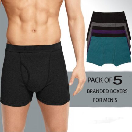 Pack Of 5 Boxers For Men in Pakistan