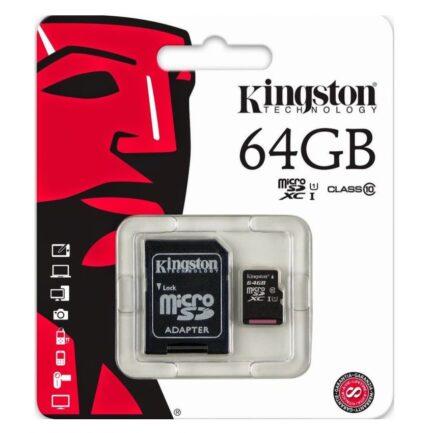 Kingston 64GB Micro SD Memory Card in Pakistan