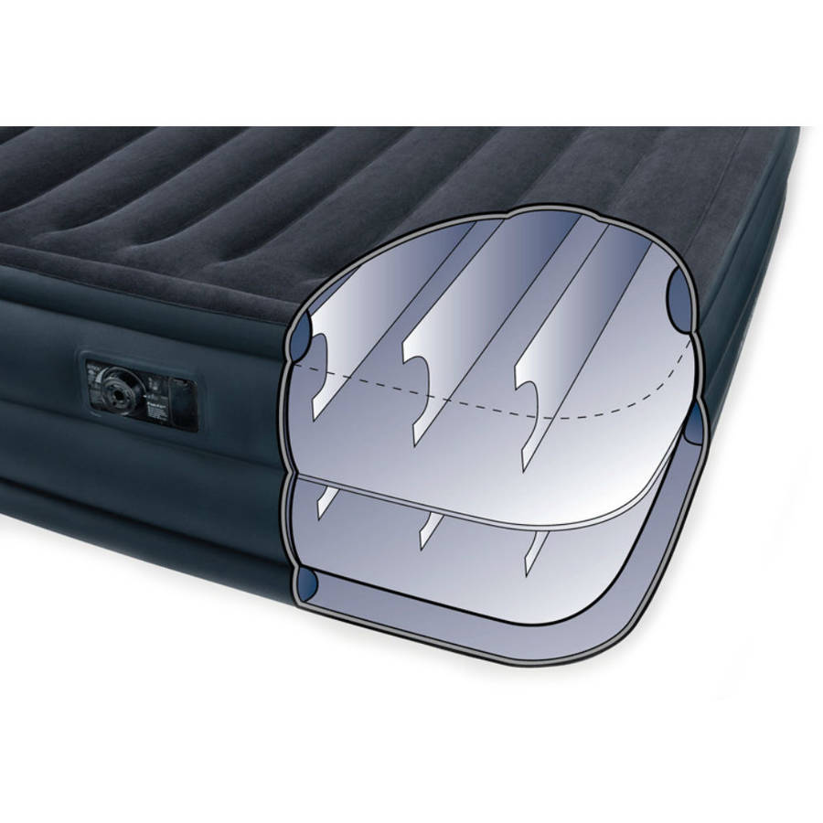 intex double sleeping air bed with pump1