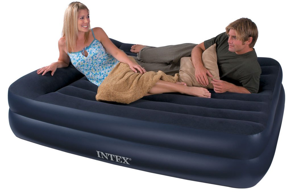 Intex Double Sleeping Air Bed with pump in Pakistan