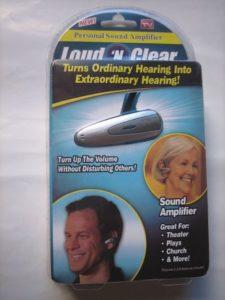Loud N Clear Hearing Aid Sound Amplifier Price in Pakistan