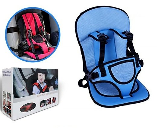 Multi-function Baby Car Seat Cushion with Safety Belt