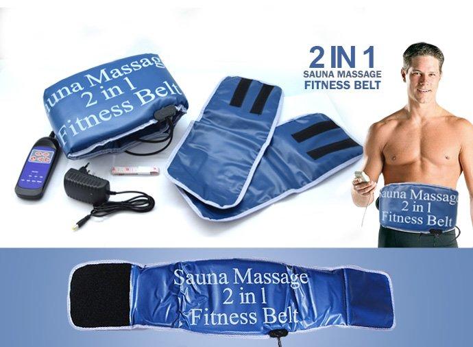 Sauna Massage 2 in 1 Fitness Belt
