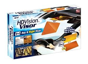 Buy Pack Of 2 HD Vision Visor For Your Car in Pakistan