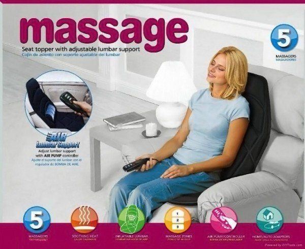 Massage Seat Topper with Soothing Heat in Pakistan
