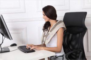 Cervical Massage Shawl Neck - Shoulder and Back
