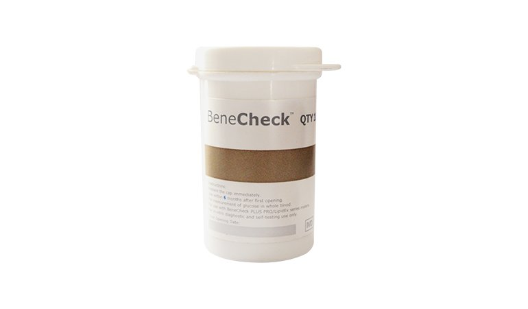 Benecheck Glucose 50's Test Strips in Pakistan