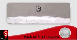 Pack Of 6: 3 AC Covers & 3 Outer Covers In Pakistan