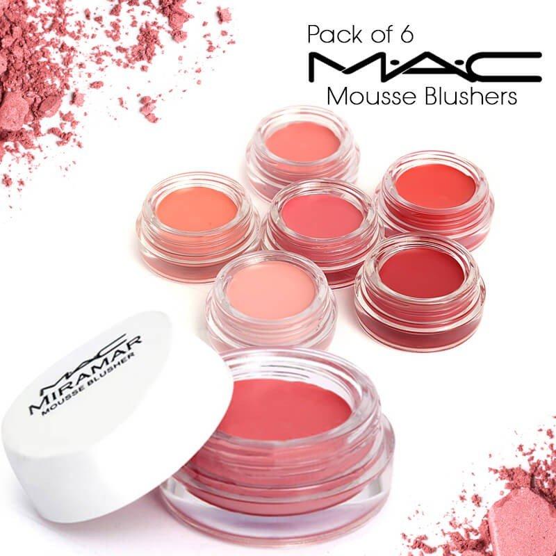 6 MAC Mousse Blushers in Pakistan