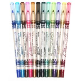 Pack of 12 - Glitter Eye Liner Pencil in Pakistan