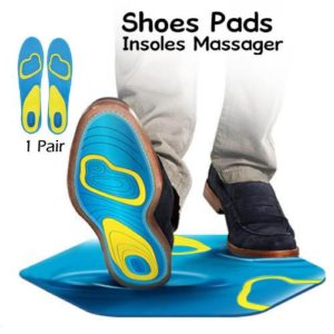 Scholl Active Work Gel Massage Insoles for Men Women