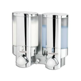 Double-Soap-Sanitizer-Liquid-Dispenser-Lotion-Pump-Wall-Mounted-Bathroom in pakistan