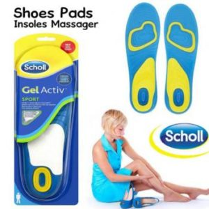 Scholl Active Work Gel Massage Insoles for Men / Women in Pakistan