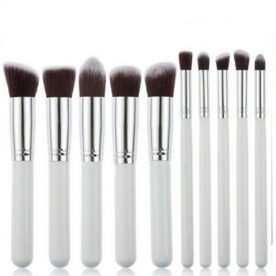 10 PCS Professional Makeup Brushes Set in Pakistan