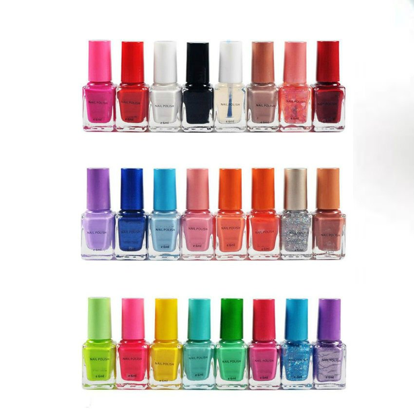 Pack Of 24 Nail Polishes In Pakistan