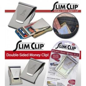 Slim Clip Double-Sided Money Clip in Pakistan