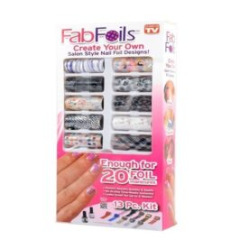 Fab Foils Nail Art Kit in Pakistan