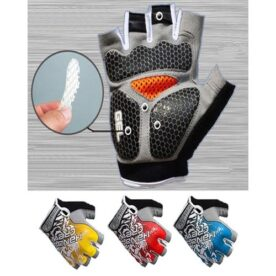 Gym Gloves imported - blue in Pakistan