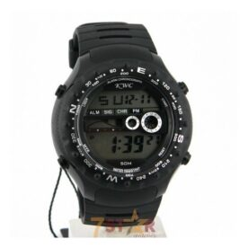 KWC Digital Men's Wrist Watch In Rubber Strap in Pakistan