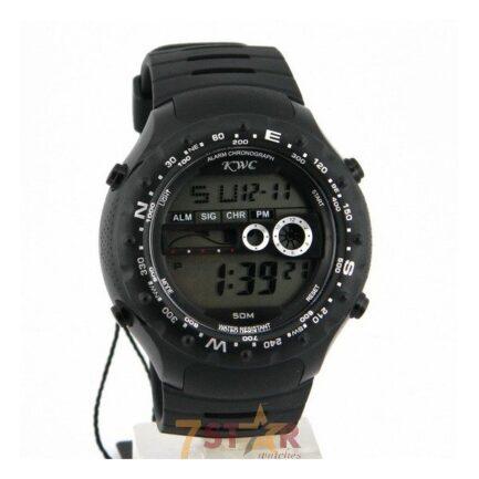 KWC Digital Men's Wrist Watch In Rubber Strap in Pakistan