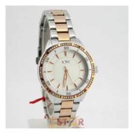 KWC Ladies Wrist Watch In Two Tone Bracelet in Pakistan