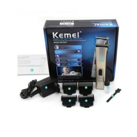 Kemei Professional Hair Clipper & Trimmer - Silver in Pakistan