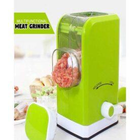 Multi Functional Meat Grinder - Green in Pakistan