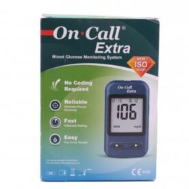 On Call Extra - Blood Glucose Monitoring System in Pakistan