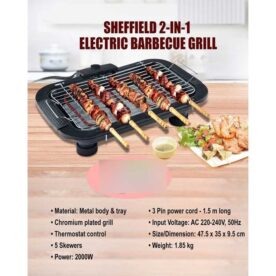Sheffield 2-in-1 Electric Barbecue Grill in Pakistan
