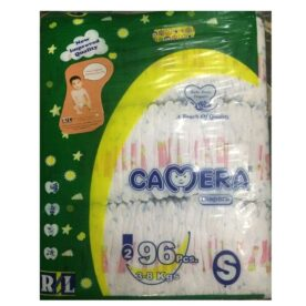 Camera Diaper Dry Mega Pack 96 Pcs Size S(2)