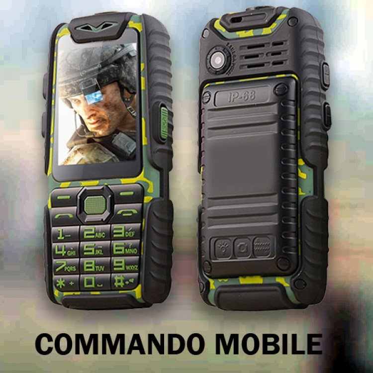 Commando Mobile+Power Bank 10,000 mAh in Pakistan