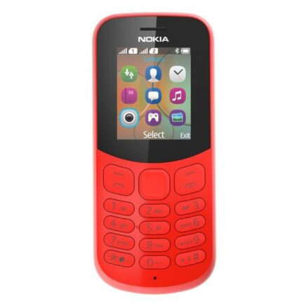 Nokia 130 Mobile 2017 Model Red in Pakistan