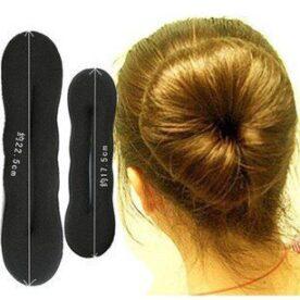 Pack Of 2 Stylish Beauty Hair Bun Roller in Pakistan