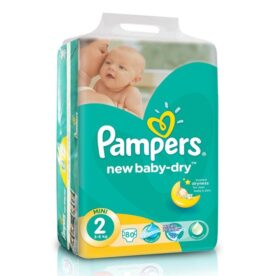 Pampers Jumbo Pack Of 80 in Pakistan