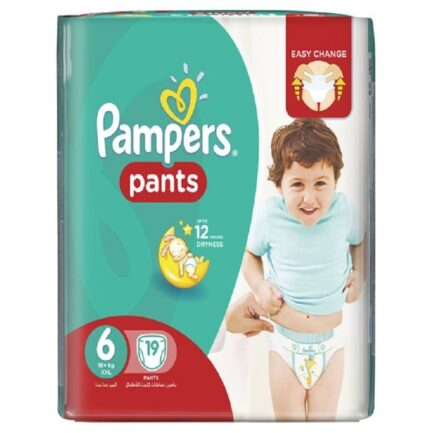 Pampers Pack of 19 Jumbo Pants Size 6 Xxl in Pakistan