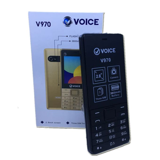 Voice V970 Dual SIM Phone in Pakistan