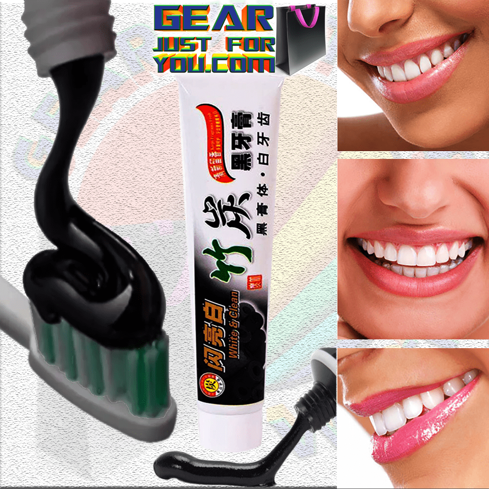 Buy Bamboo Charcoal Teeth Whitener Toothpaste In Pakistan Getnow Pk